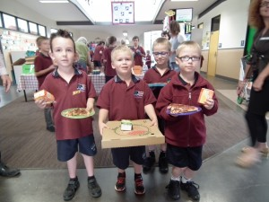 Pizza - Maryborough Education Centre - Term 1 2014 Progress Report