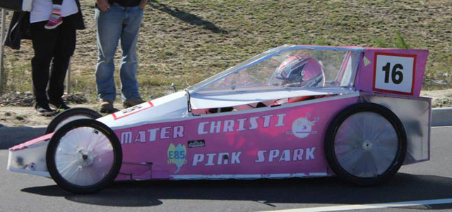 Pink Spark from Mater Christi College