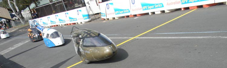 Australian International Pedal Prix - Race trio