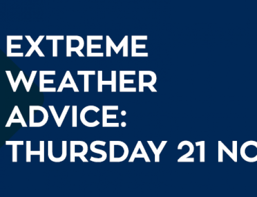 Extreme Weather Advice: Thursday 21 November